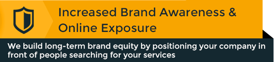 Increase brand awareness and online exposure
